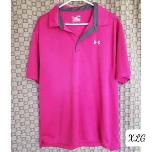NWOT Under Armour Men's Tech Athletic Polo XLG